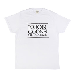 Noon Goons Los Angeles S/S T-Shirt White