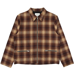 Noon Goons Anderson Flannel Jacket - Brown