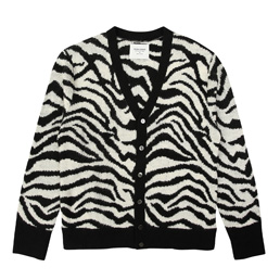Noon Goons Tiger Cardigan - Black/White