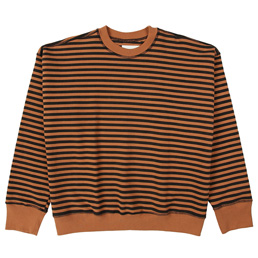 Noon Goons Lefty Stripe Sweat - Black/Brown