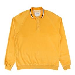 Noon Goons LS Felpa Velour Shirt Amber