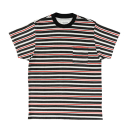 Noon Goons Cruiser Stripe Pocket T-Shirt Black