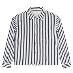 Noon Goons LS Luciano Shirt White/Black