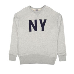 Ebbets New York Gothams Sweat Grey