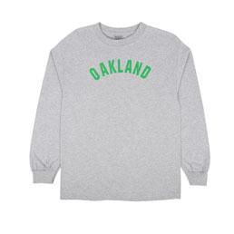 Ebbets Oakland Oaks LS T-Shirt Grey