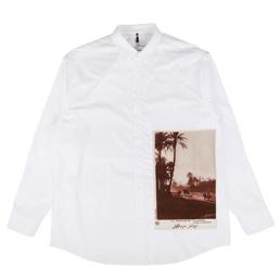 OAMC Postcard Shirt Woven White
