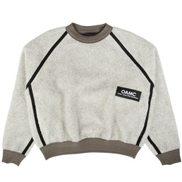 OAMC Coyote Crewneck Jersey Natural