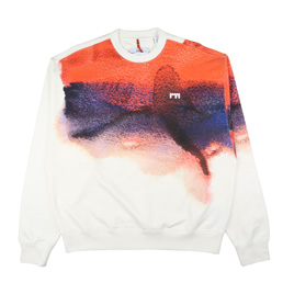 OAMC Watercolor Crewneck Jersey Red
