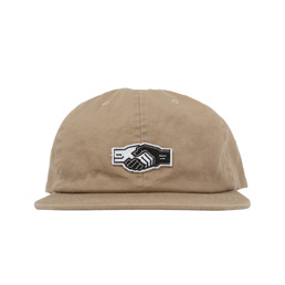 Powers Handshake Graphic Cap - Khaki