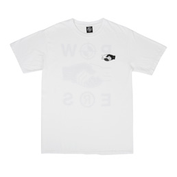 Powers Handshake Tee - White