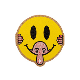 Powers Kilroy Smiley Coasters