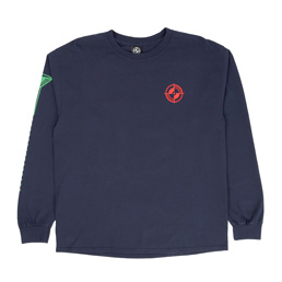 Powers Registration LS Tee - Navy