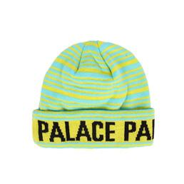 Palace Stripe Beanie - Fluro