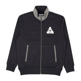 Palace Zyme Funnel Zip Up Top Black