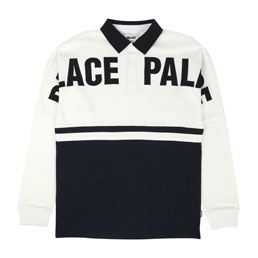 Palace P2 Rugby Top White