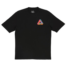 Palace P-3D T-Shirt Black