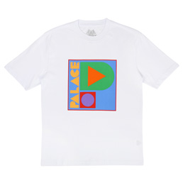 Palace Geo P T-Shirt White