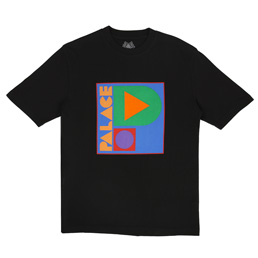 Palace Geo P T-Shirt Black