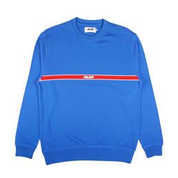 Palace 320 Lines Crew Blue