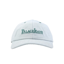 Palace 6-Panel Cap Green/ White Stripes