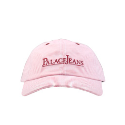 Palace 6-Panel Cap Red/ White Stripes