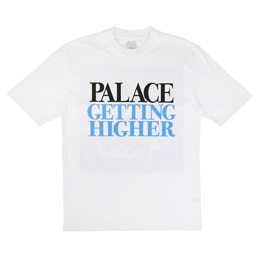 Palace Getting Higher T-Shirt White