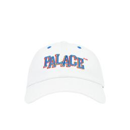 Palace Pal Boy 6-Panel Hat White