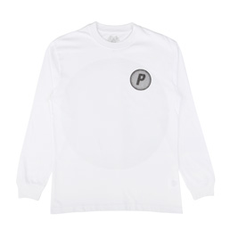 Palace Pircular Longsleeve White