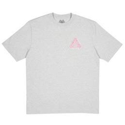 Palace K Head T-Shirt Grey Marle