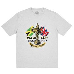 Palace Par T-Shirt Grey Marle