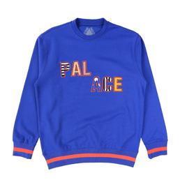 PALACE Pal Pal Crew Blue