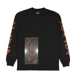 Palace Griddle L/S T-Shirt Black