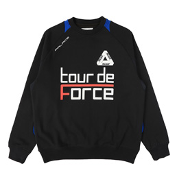 Palace Tour de Force Crew Black