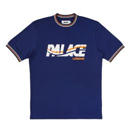 Palace London Wave T-Shirt - Navy