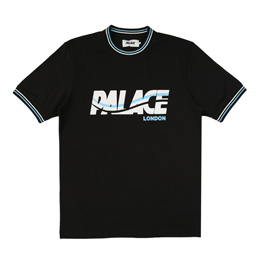 Palace London Wave T-Shirt - Black
