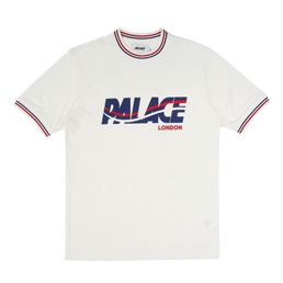 Palace London Wave T-Shirt - White