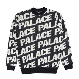 Palace Toner Knit - Navy