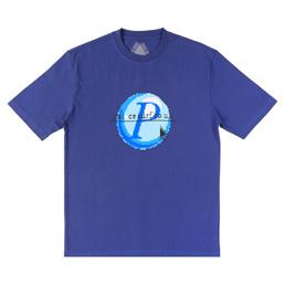 Palace Log On T-Shirt Navy