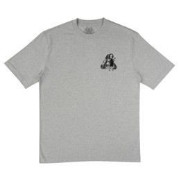 Palace U Figure T-Shirt - Grey