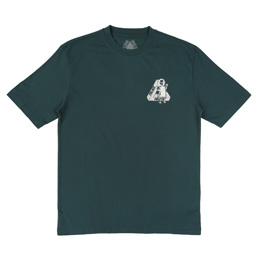 Palace U Figure T-Shirt - Dark Green