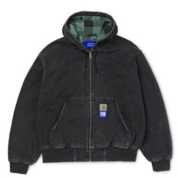 Carhartt x Paccbet Active Jacket - Black Stone Was