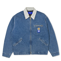 Carhartt x Paccbet Detroit Jacket - Blue Denim