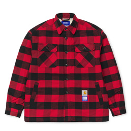 Carhartt x Paccbet Shirt Jacket - Red/Black