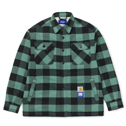 Carhartt x Paccbet Shirt Jacket - Green/Black