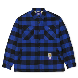 Carhartt x Paccbet Shirt Jacket - Blue/Black