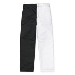 Carhartt x Paccbet Master Pant - Black/White Rigid