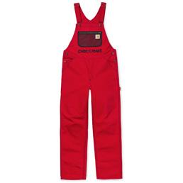 Carhartt x Paccbet Bib Overall - Red/Black