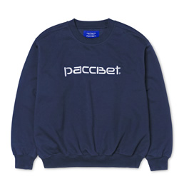 Carhartt x Paccbet Script Sweat  - Blue/White