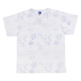 PACCBET Alien Pattern All Over T-Shirt White