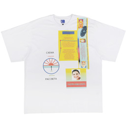 PACCBET Schematic Oversized T-Shirt White